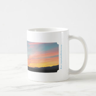 Deer Canyon Sunset Coffee Mug