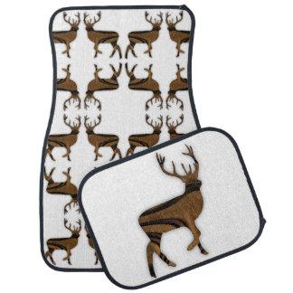 Deer Car Mat