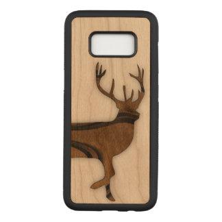 Deer Carved Samsung Galaxy S8 Case