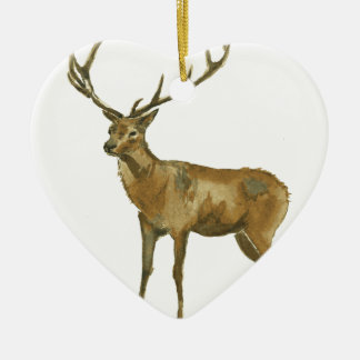 Deer Ceramic Ornament