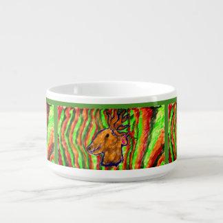 deer cool art bowl