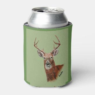 Deer cozy can cooler