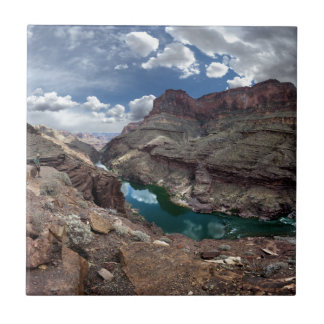 Deer Creek at Colorado River - Grand Canyon Tile