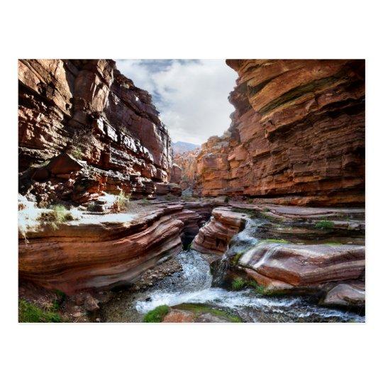 Deer Creek Narrows Waterfalls - Grand Canyon Postcard