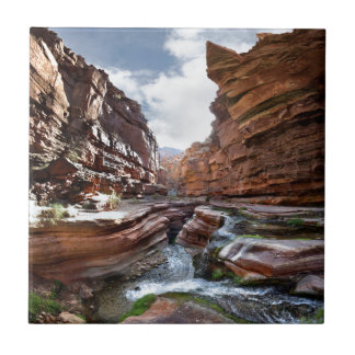 Deer Creek Narrows Waterfalls - Grand Canyon Tile