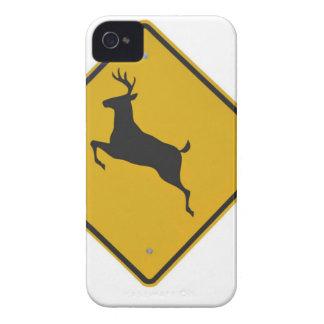 deer-crossing-sign Case-Mate iPhone 4 case