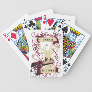 deer crown our is the fury bicycle playing cards