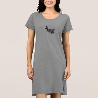 Deer Design Christmas Dress