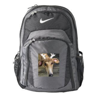 Deer dog - cute dog - whippet backpack