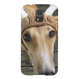 Deer dog - cute dog - whippet case for galaxy s5