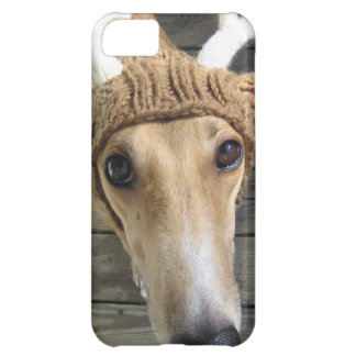 Deer dog - cute dog - whippet iPhone 5C case