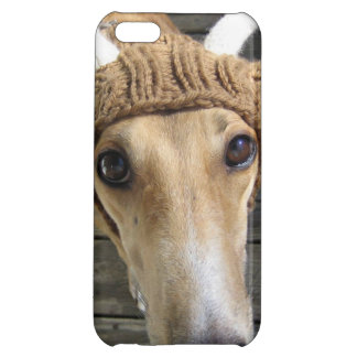 Deer dog - cute dog - whippet iPhone 5C cover