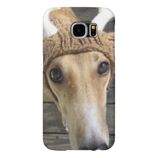 Deer dog - cute dog - whippet samsung galaxy s6 case