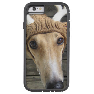 Deer dog - cute dog - whippet tough xtreme iPhone 6 case