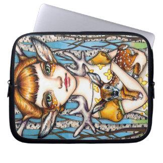 Deer Dorothy Laptop Sleeve
