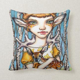 Deer Dorothy Throw Pillow