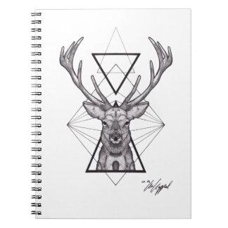 Deer Dotwork note book