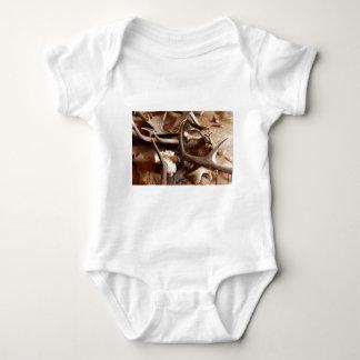 Deer Elk Moose Antlers Hunting Gift Ideas Hunters Baby Bodysuit