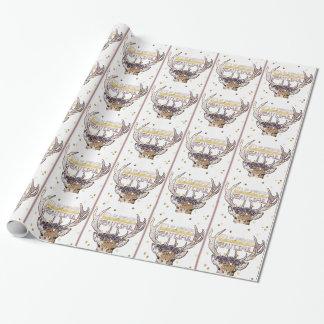 Deer Explorer Wrapping Paper