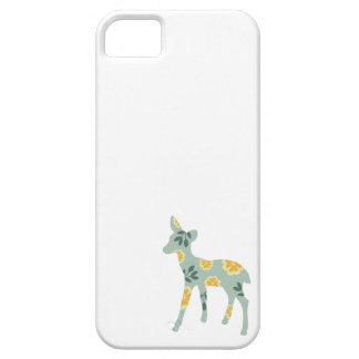 Deer fawn cute animal folk art nature pattern iPhone 5 covers