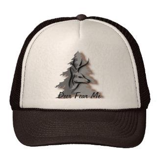 Deer Fear Me Funny Nature Trucker Hat