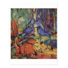 Deer - Franz Marc Postcard