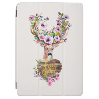Deer Free Spirit Watercolor Design Ipadair Cover iPad Air Cover