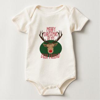 Deer Friend Baby Bodysuit