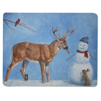 Deer & Funny Snowman Christmas Journals