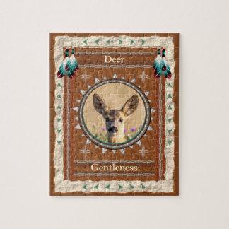 Deer -Gentleness- Jigsaw Puzzle w/ Gift Box