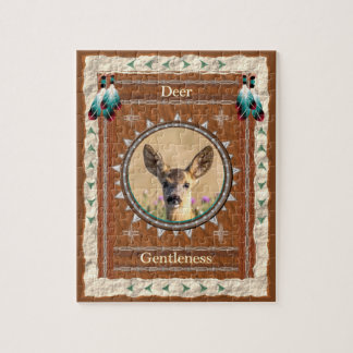 Deer -Gentleness- Jigsaw Puzzle w/ Gift Box