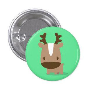 deer green pins 缶バッジピンバック