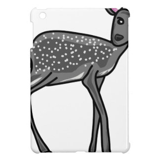 Deer Grey iPad Mini Cover