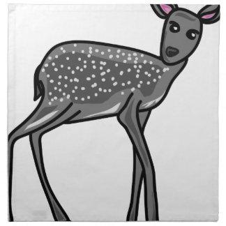 Deer Grey Napkin