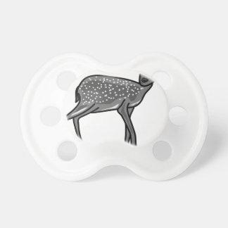 Deer Grey Pacifier