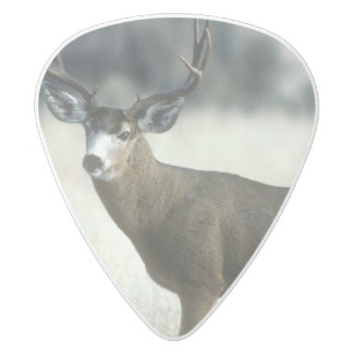 Deer Guitar Pick White Delrin Guitar Pick