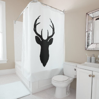 Deer Head Antlers Rustic Country Modern