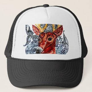 Deer Head Art01 Trucker Hat
