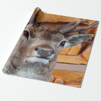 Deer head wrapping paper