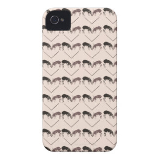Deer Heart Pattern iPhone 4 Case-Mate Cases