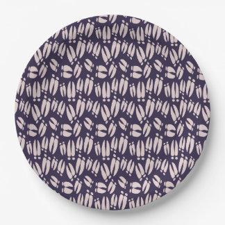 deer hooves paper plate