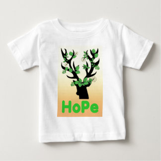 Deer horn Hope quotes Baby T-Shirt