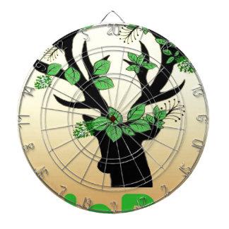Deer horn Hope quotes Dartboard