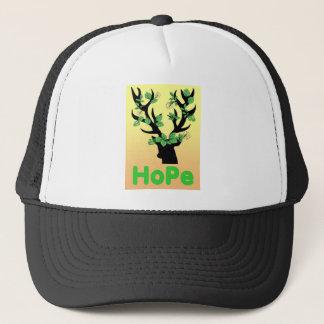 Deer horn Hope quotes Trucker Hat