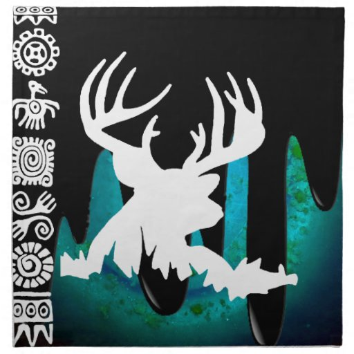 DEER HORN PRODUCTS PRINTED NAPKINS
