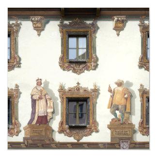 Deer House (Hirschenhaus) in Berchtesgaden Magnetic Card