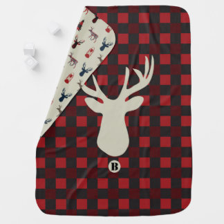 Deer Hunter baby blanket