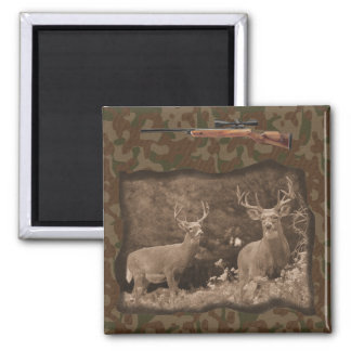 Deer Hunter Camo Magnet