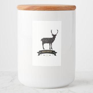 deer hunter jar food label
