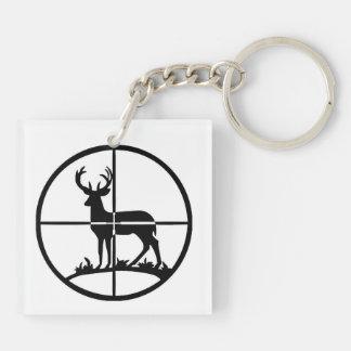 Deer Hunter Keychain